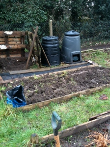 Good to finally make a start on the allotment