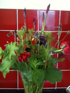Handpicked Flowers, from my garden and allotment